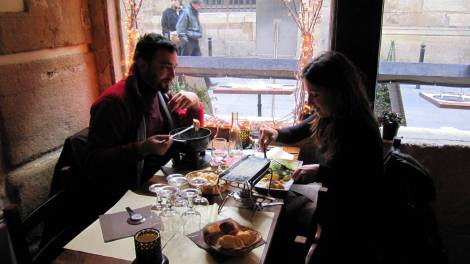 raclette and fondue in Paris