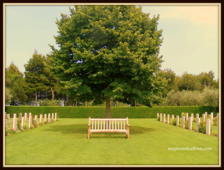 Maple&Saffron Moro River Canadian War Cemetery