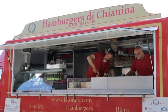 chianina hamburger at I Torelli