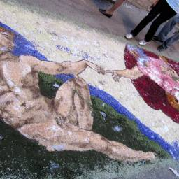 Spello - art on the streets