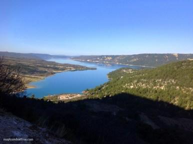 Sainte Croix Lake - morning view