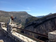 Verdon - on top of the Canyon