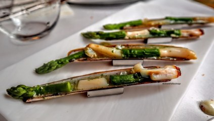 Cannolicchi con asparagi e salsa verde