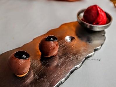 Praline di cioccolata (liquide all'interno!)
