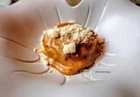 Cesar salad di tacchino marinato, parmigiano