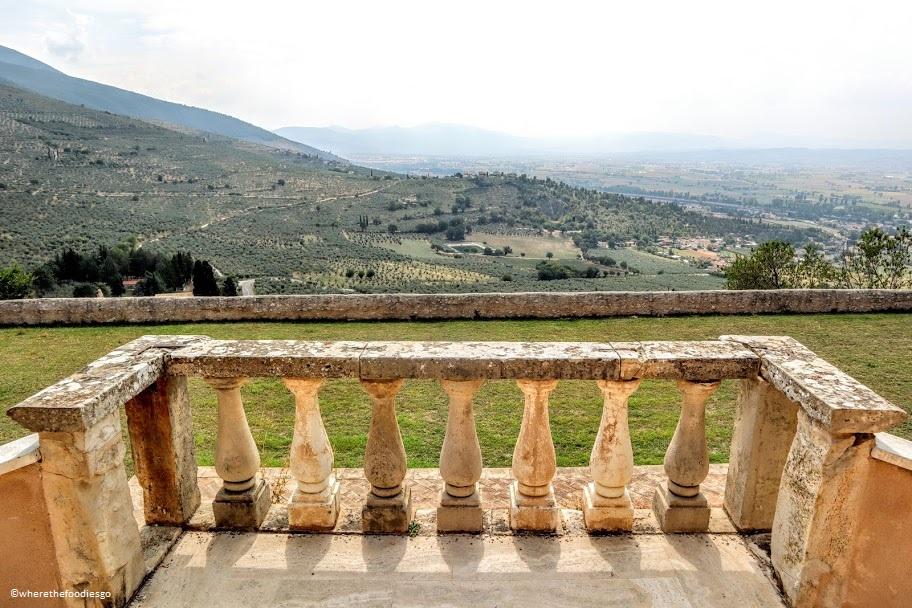 Villa Fabri garden, Trevi