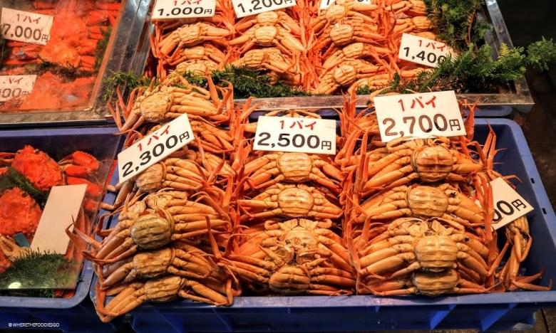 Kanazawa - Omicho market