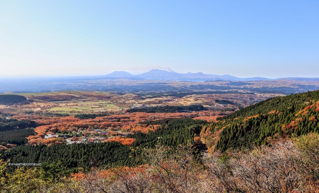 Parco Nazionale Aso-Kuju, Kyushu