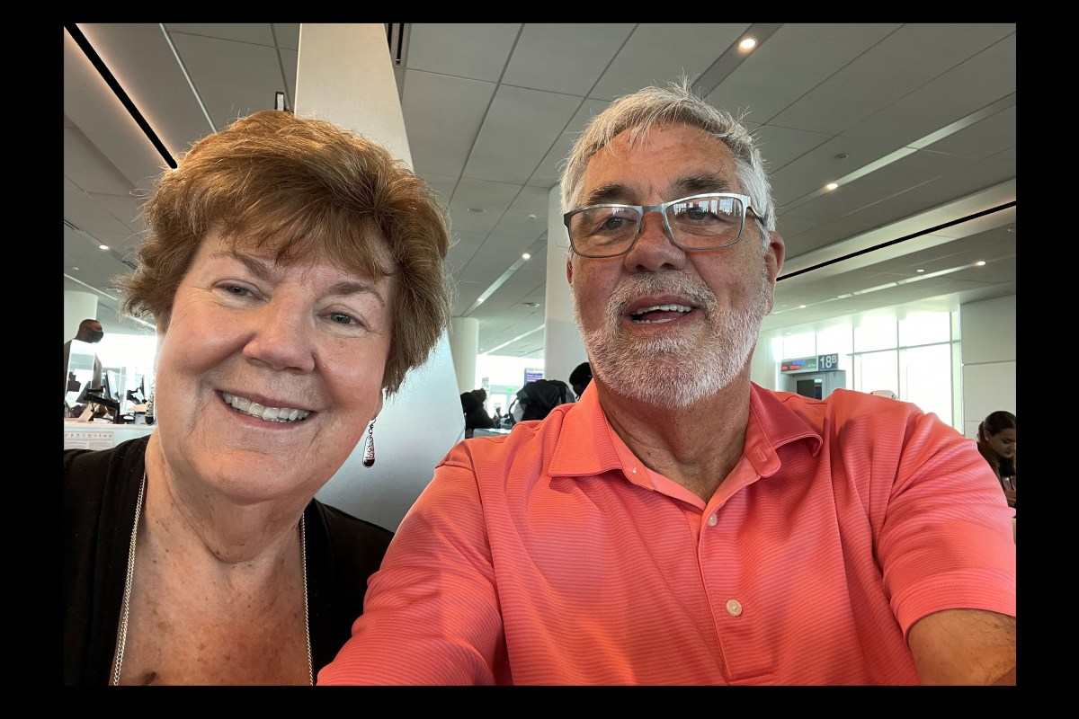 Bill and Cheryl Visiting From KC