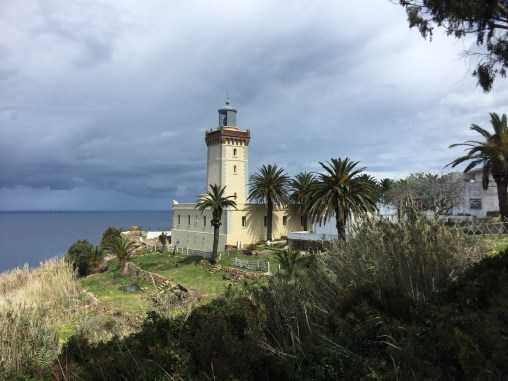The lighthouse at Cap Spartel