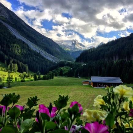 View from B&B Kernhof