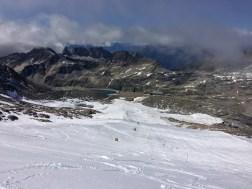 View from the top of the Mölltaler Gletscher, August 2016