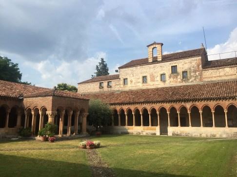 Basilica di San Zeno's cloister
