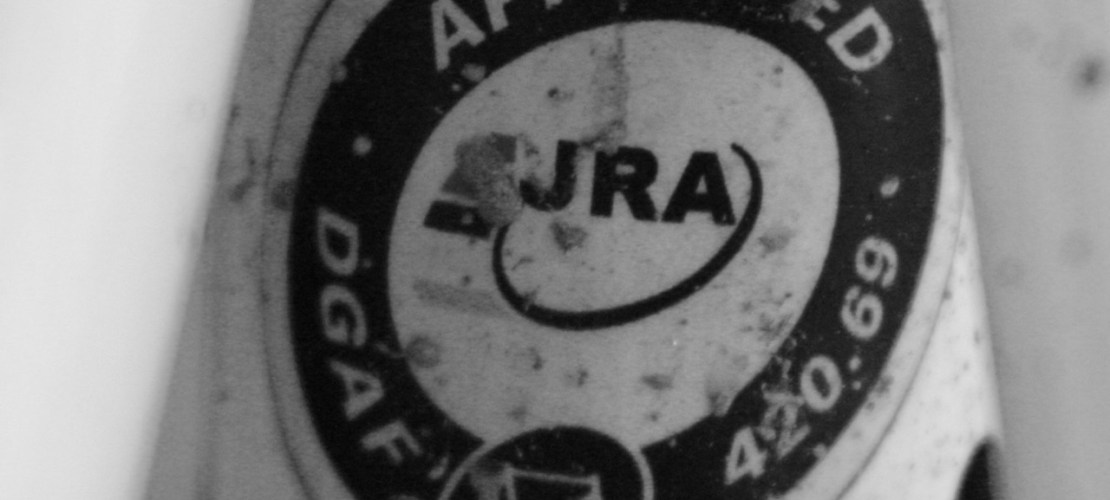 Just Riding Along (JRA) Badge