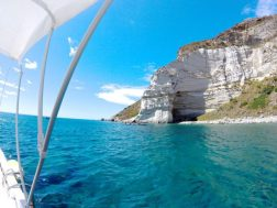 the best beach coves in ponza