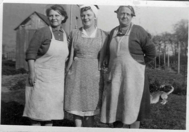 Granny Mitchell, Mrs Snaddon, and Mrs Pearson.