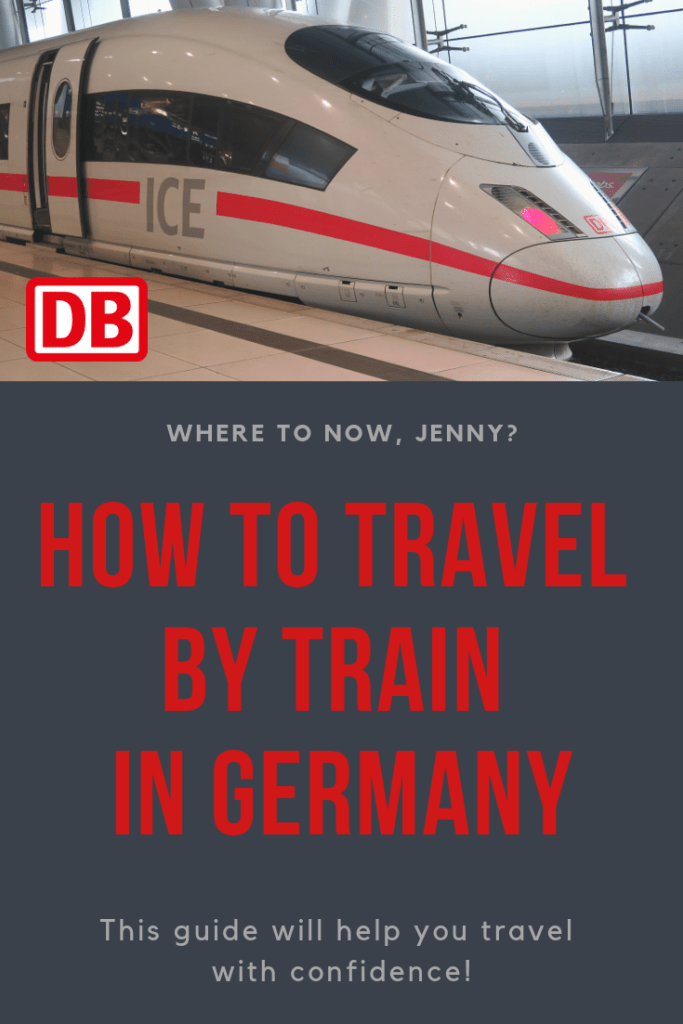 how to travel by train in germany