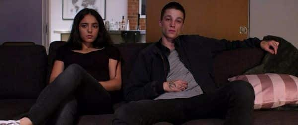 Virginie (Hafsia Herzi) and Rupert (Ash Stymest) in Sex Doll.
