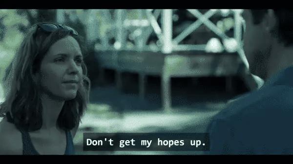 Rachel (Jordana Spiro) in Ozark