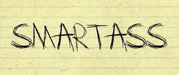 Smartass Title Card