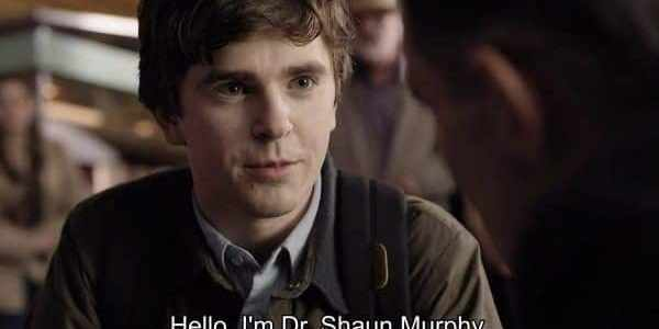 The Good Doctor Season 1 Episode 1 Burnt Food [Series Premiere] - Dr. Shaun Murphy (Freddie Highmore)