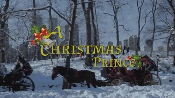 A Christmas Prince - Title Card