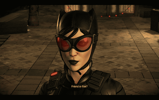 Batman The Enemy Within Episode 3 Fractured Mask - Catwoman