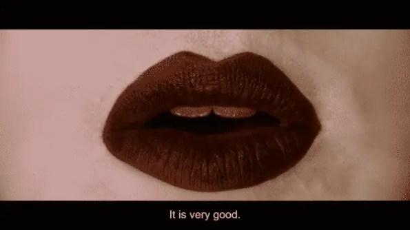 Alex Lawther's lips