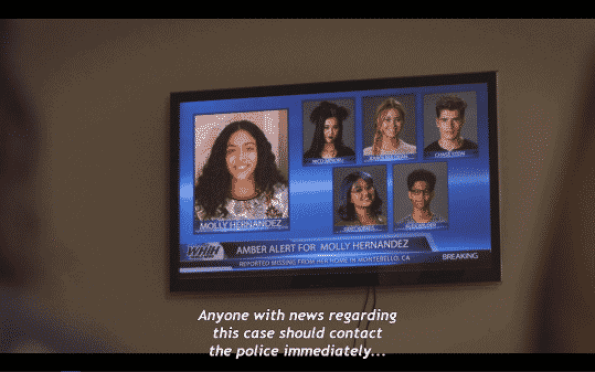 An Amber Alert for Molly, and it being noted the Runaways are suspects in regards to what happened to Destiny.