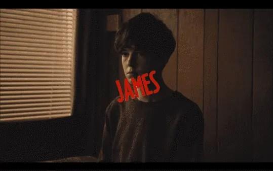 Alex Lawther as James