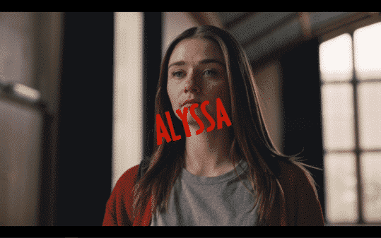 Jessica Barden as Alyssa