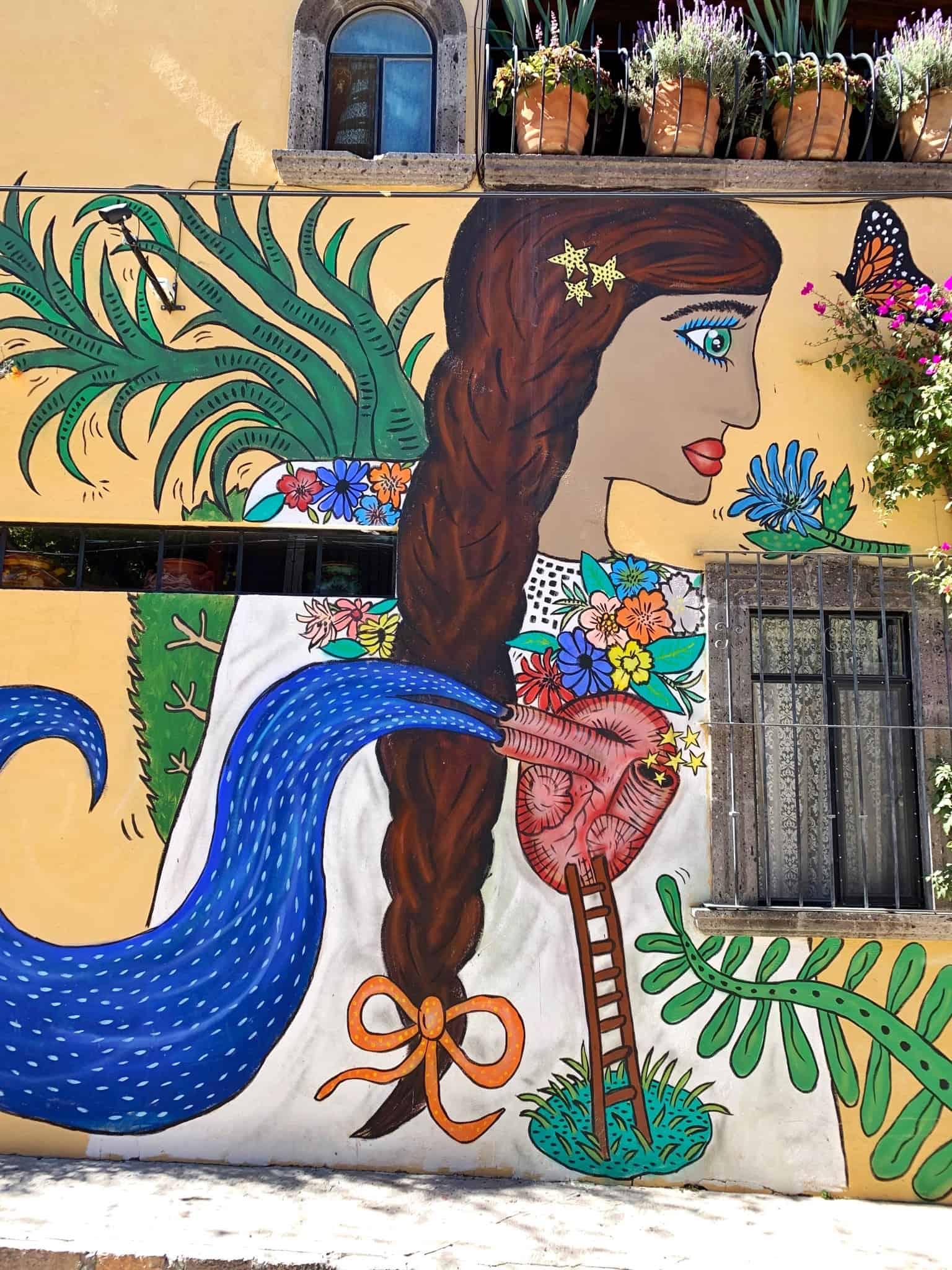 Street art of San Miguel de Allende
