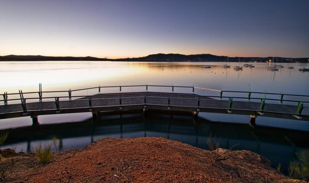Lake Macquarie's crystal-like waters