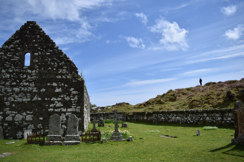 16-Kildalton-Church-Ruins-Ancient-Kildalton-Cross-on-Islay-Scotland-Island