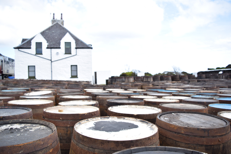18-Scotch-Barrels-to-Age-Whisky-at-Ardbeg-Distillery-Islay-Scotland---Scottish-Routes-4-Day-Tour