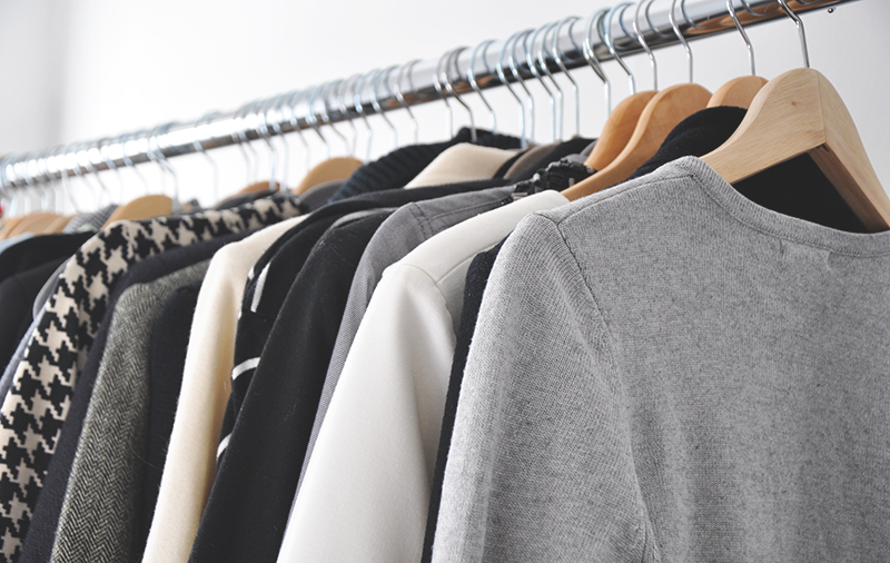 ambience - neutrals in the closet - defining my style