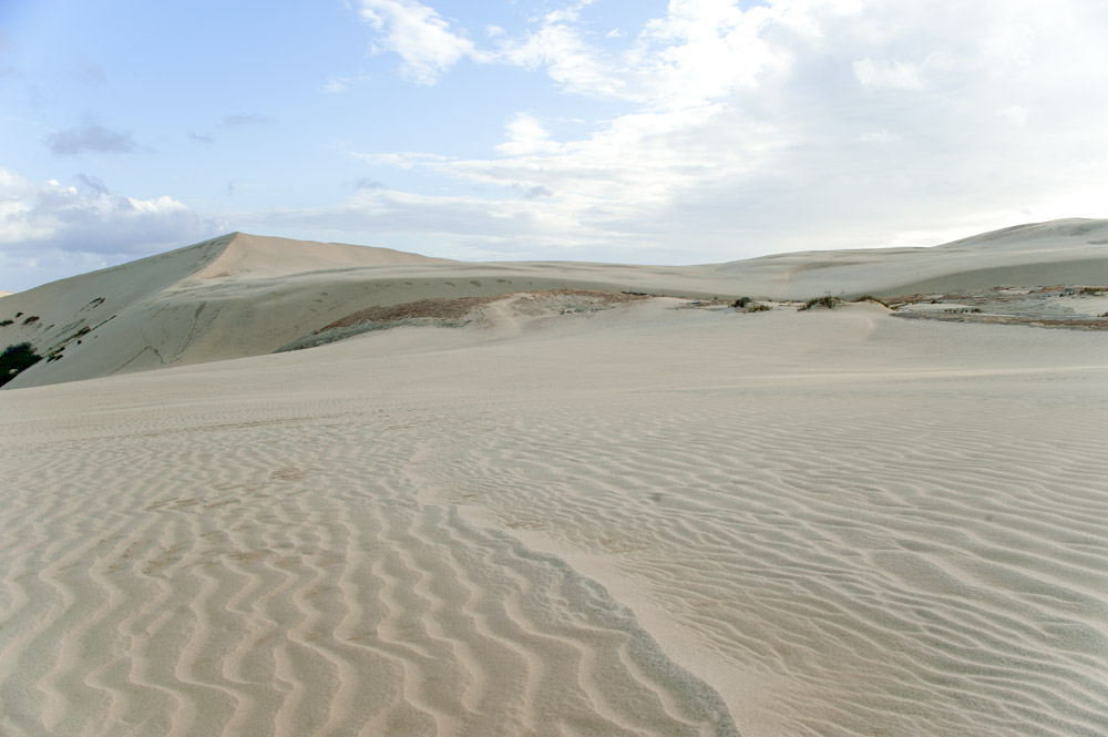 Te Paki sand dunes, one of the best things to do in New Zealand