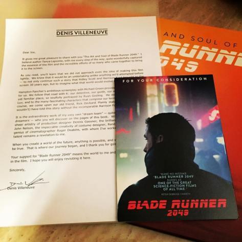 Blade Runner 2049 DVD Screener