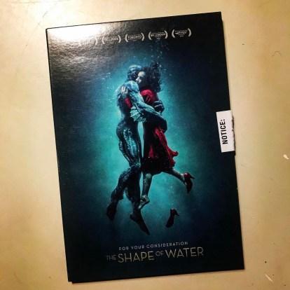 The Shape of Water DVD Screener