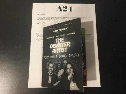 The Disaster Artist DVD Screener