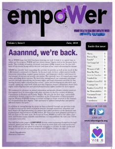 Empower Volume 1, Issue 3