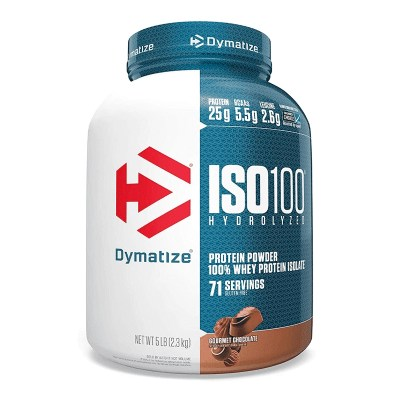 iso 100 hydrolyzed 5lb gourmet chocolate
