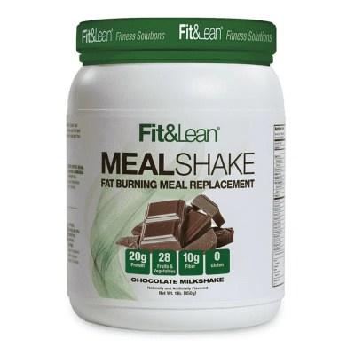 meal shake chocolate milkshake fit and lean