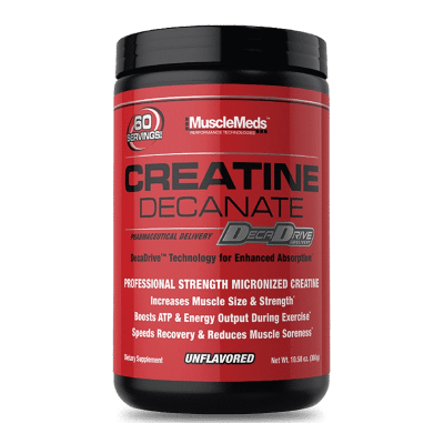 creatine decanate unflavored musclemeds