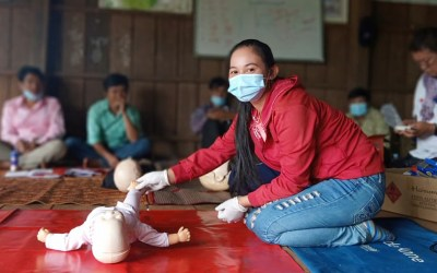Indigenous Community Members Earn Red Cross Certificates