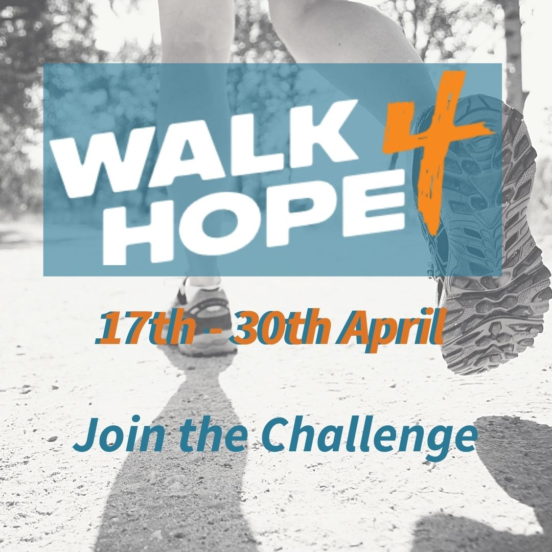 Join the walk4hope challenge!