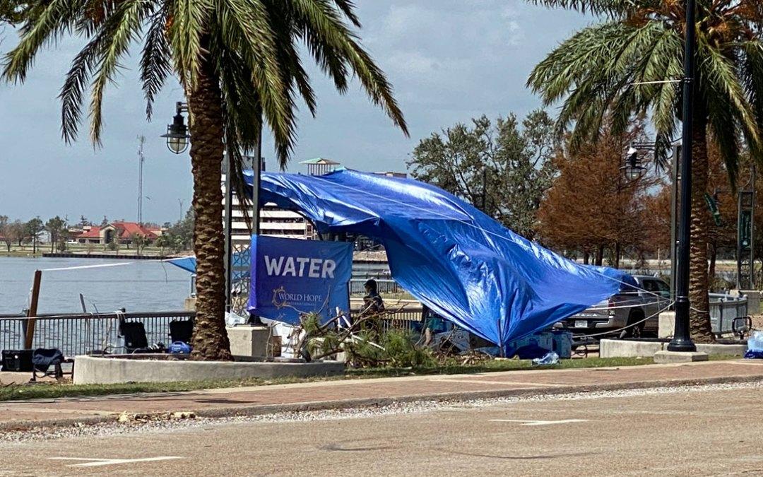 Hurricane Laura Survivors Receive Clean Water & $100K+ in Aid