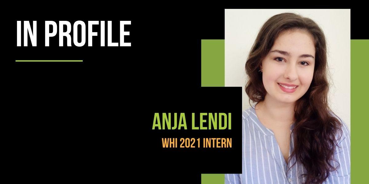 Intern Profile - Anja Lendi