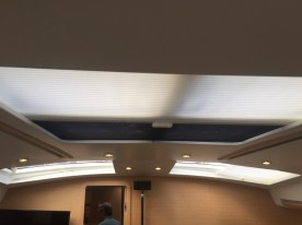Jeanneau 57 Main Salon Headliner and Shades