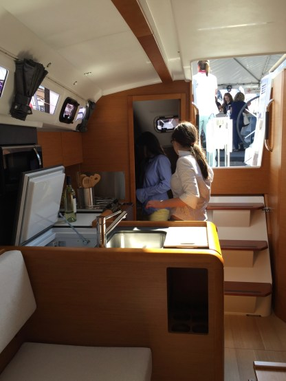 Jeanneau Sun Odyssey 349 Galley